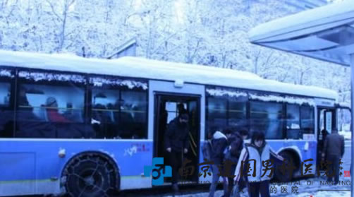 南京突降大雪